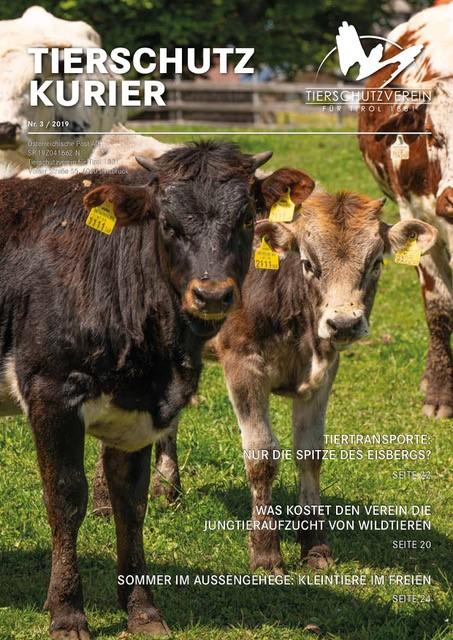 Wieder viele interessante Themen und Infos – der neue Tierschutzkurier ist online!