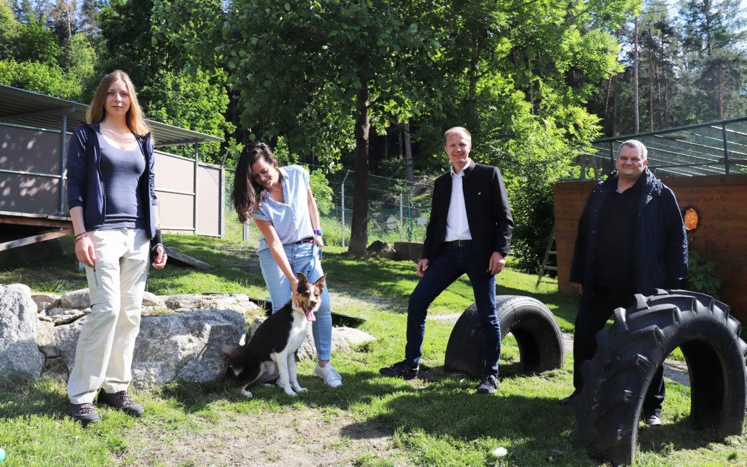 Presseaussenung der Stadt Innsbruck: Stadt unterstützt engagiertes Wirken des Tierheims Mentlberg