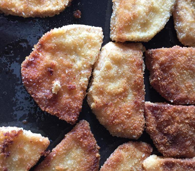 Vegane Rezeptideen: Sellerieschnitzel mit Kartoffelsalat